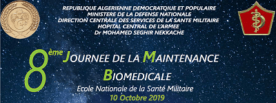 8th Day of the Biomedical Maintenance – Algiers