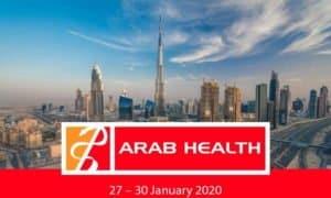 Meet us at Arab Health 2020
