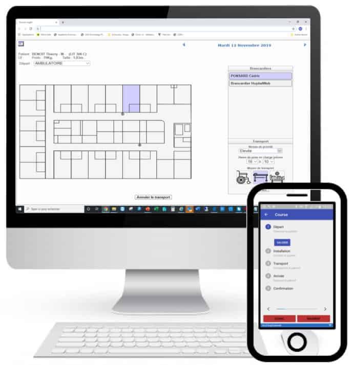 logiciel gestion brancardage - logiciel gestion hopital