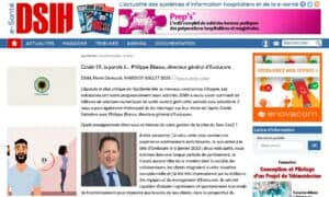 Covid-19, a word from Philippe Blanco, Chief Executive of Evolucare